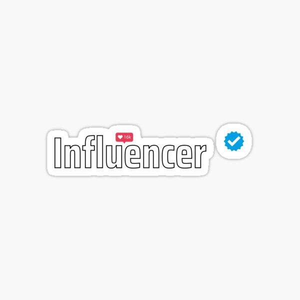 Verified Influencer Sticker