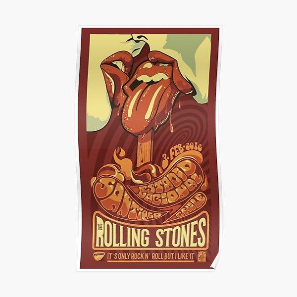 Affiche de rock classique Poster