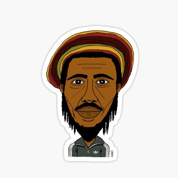 Portrait dessiné de Bob. Sticker