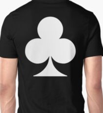 ACE, WHITE, Ace of Clubs, CLUB, Cards, Game, Suit, gangs, Gamble T-Shirt