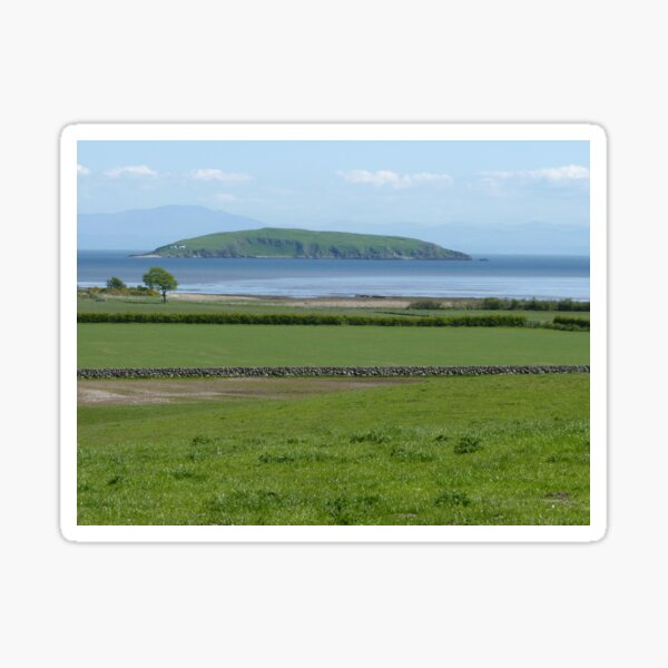Rough Island, off Rockcliffe, Scotland Sticker