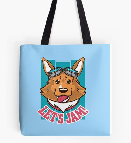 Let's Jam! Tote Bag