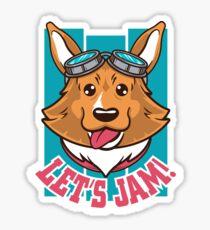 Let's Jam! Sticker