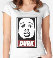 Lil Durk Women's Fitted Scoop T-Shirt