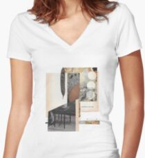 A distant memory of what she might have been Women's Fitted V-Neck T-Shirt