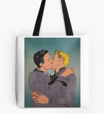 Sailor Kiss Tote Bag
