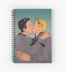 Sailor Kiss Spiral Notebook