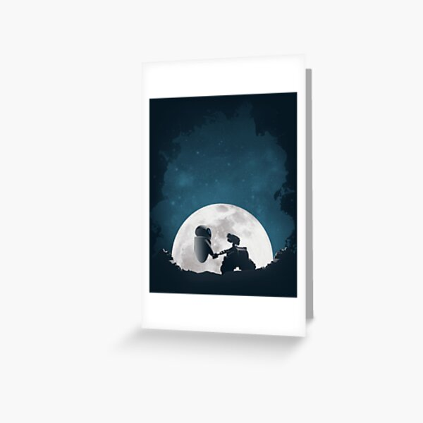 Amor espacial Tarjetas de felicitación