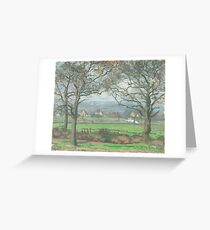 Camille Pissarro - Near Sydenham Hill 1871 Greeting Card