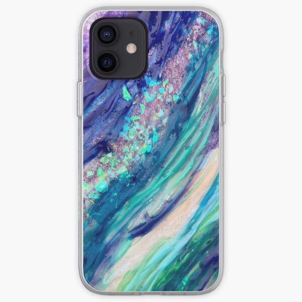 Paint Geode iPhone Soft Case