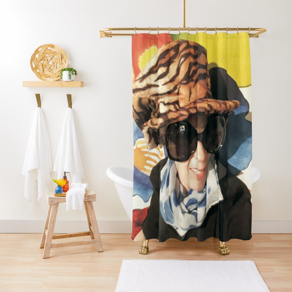Funky Taurus Bed Spreads Duschvorhang