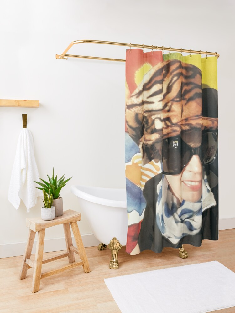 Alternative Ansicht von Funky Taurus Bed Spreads Duschvorhang