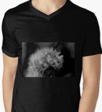 Macro Dandelion Black and White  T-Shirt