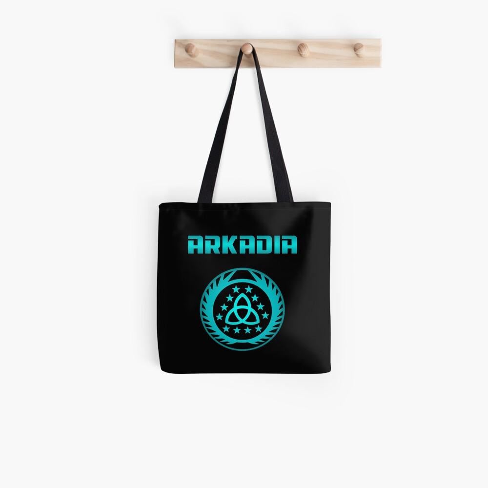 Arkadia Logo Tote Bag