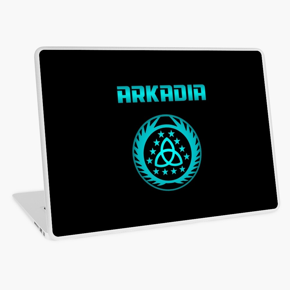 Arkadia Logo Laptop Folie