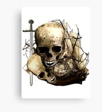 A Slice Of Piracy Canvas Print