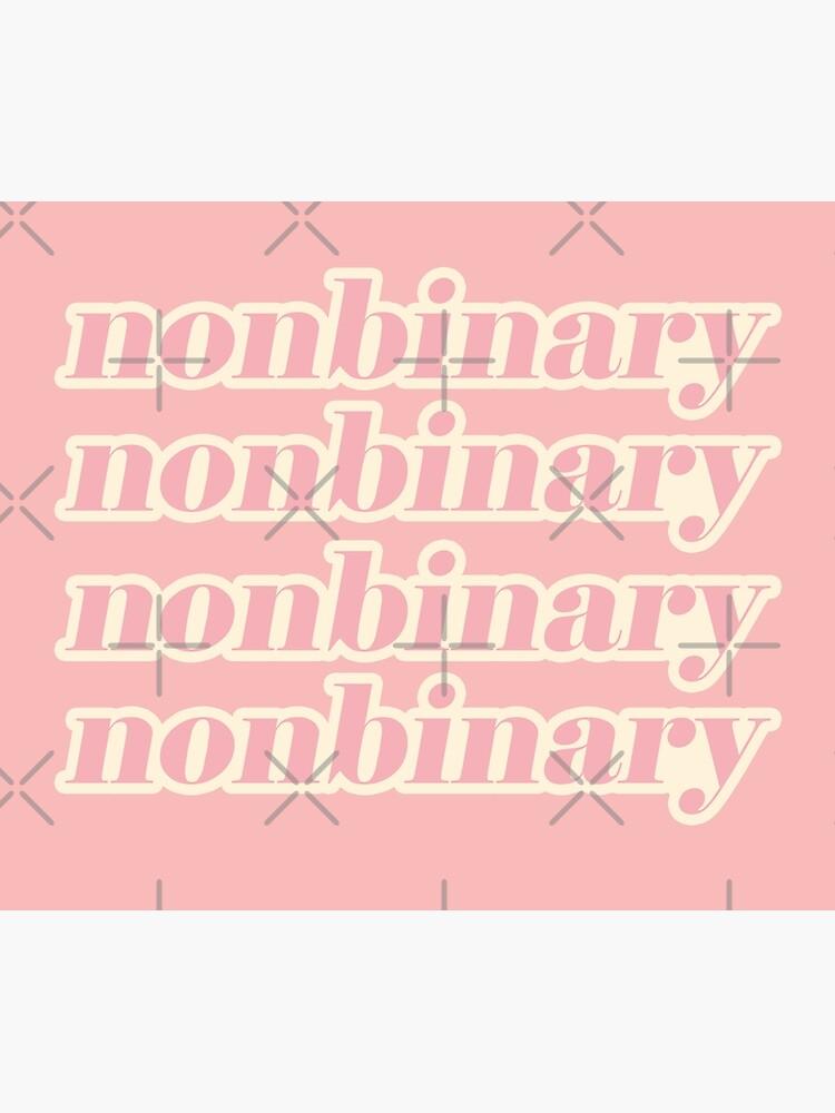nonbinary by craftordiy