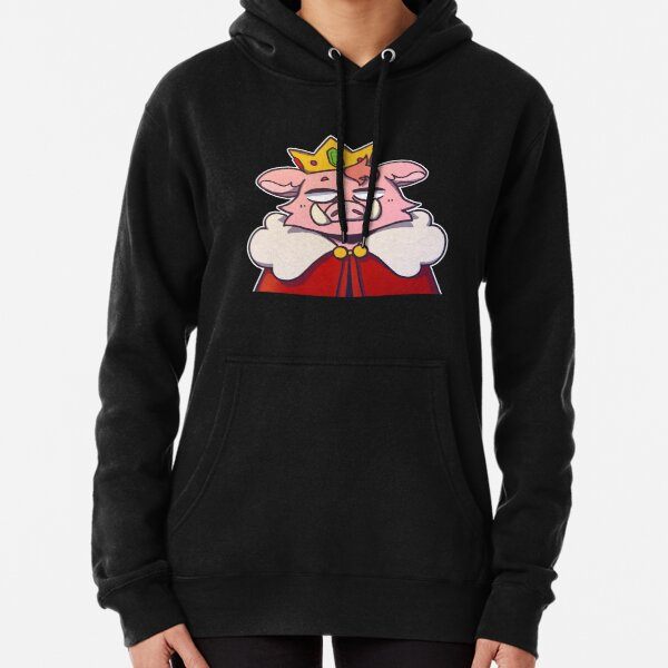 Pig King Techno Pullover Hoodie