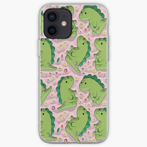 Moriah Elizabeth Pickle The Dinosaur iPhone Soft Case