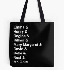 Once Upon A Time in Storybrooke Tote Bag