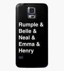Rumple & Belle & Neal & Emma & Henry Case/Skin for Samsung Galaxy