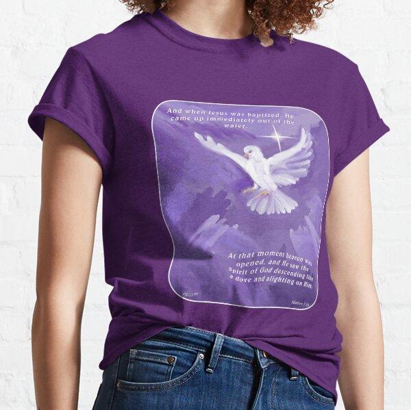 The Holy Spirit Descending as a Dove Classic T-Shirt
