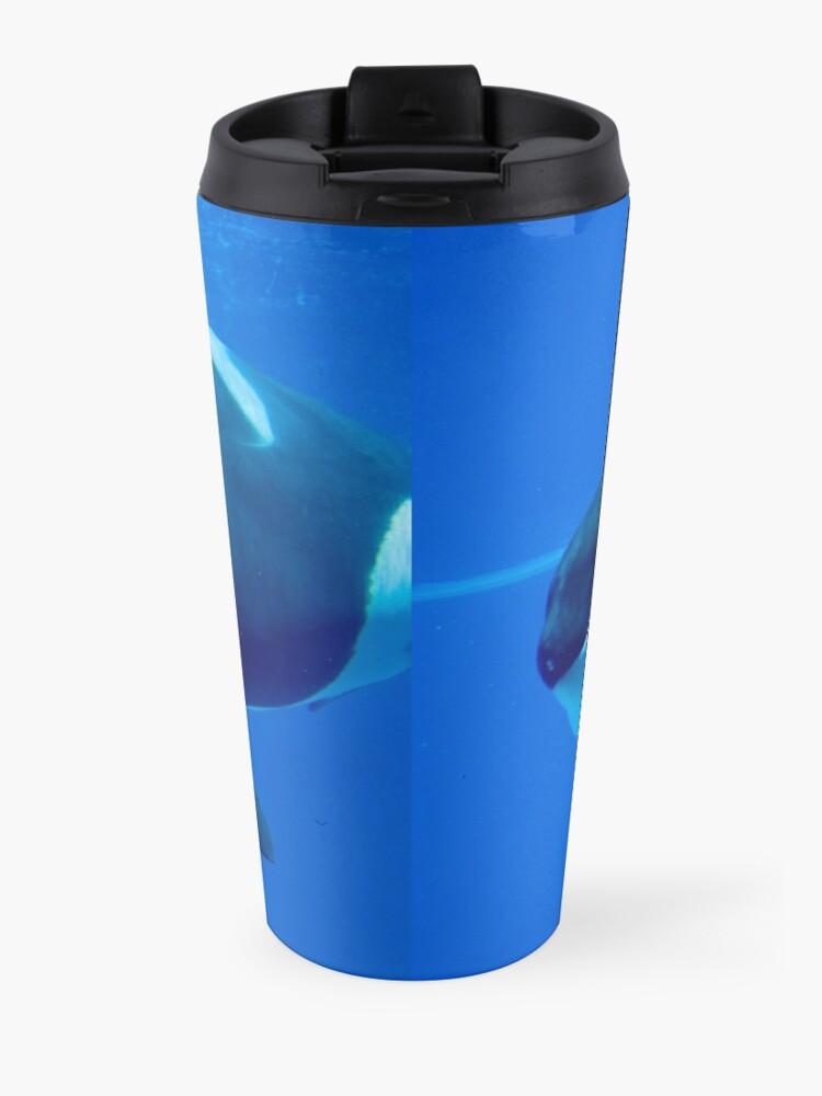 Alternate view of Killer whale Travel Mug