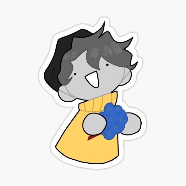 everyone like it da ghostbur Sticker