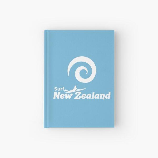 Surf New Zealand Hardcover Journal