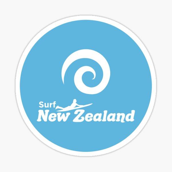 Surf New Zealand Sticker
