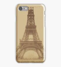 Vintage Eiffel Tower iPhone Case/Skin