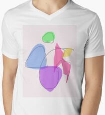 Human Body Men's V-Neck T-Shirt