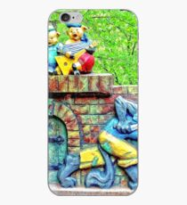 Three Little Cheerful Pigs  iPhone Case