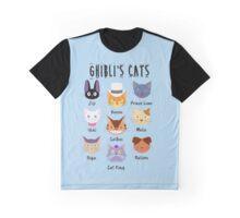 Meowyazaki Graphic T-Shirt
