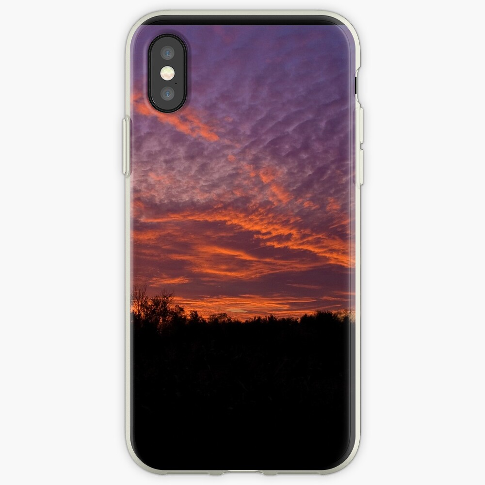 Red sky iPhone Case & Cover