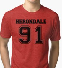 HERONDALE 91 - The Mortal Instruments - Shadowhunters Tri-blend T-Shirt