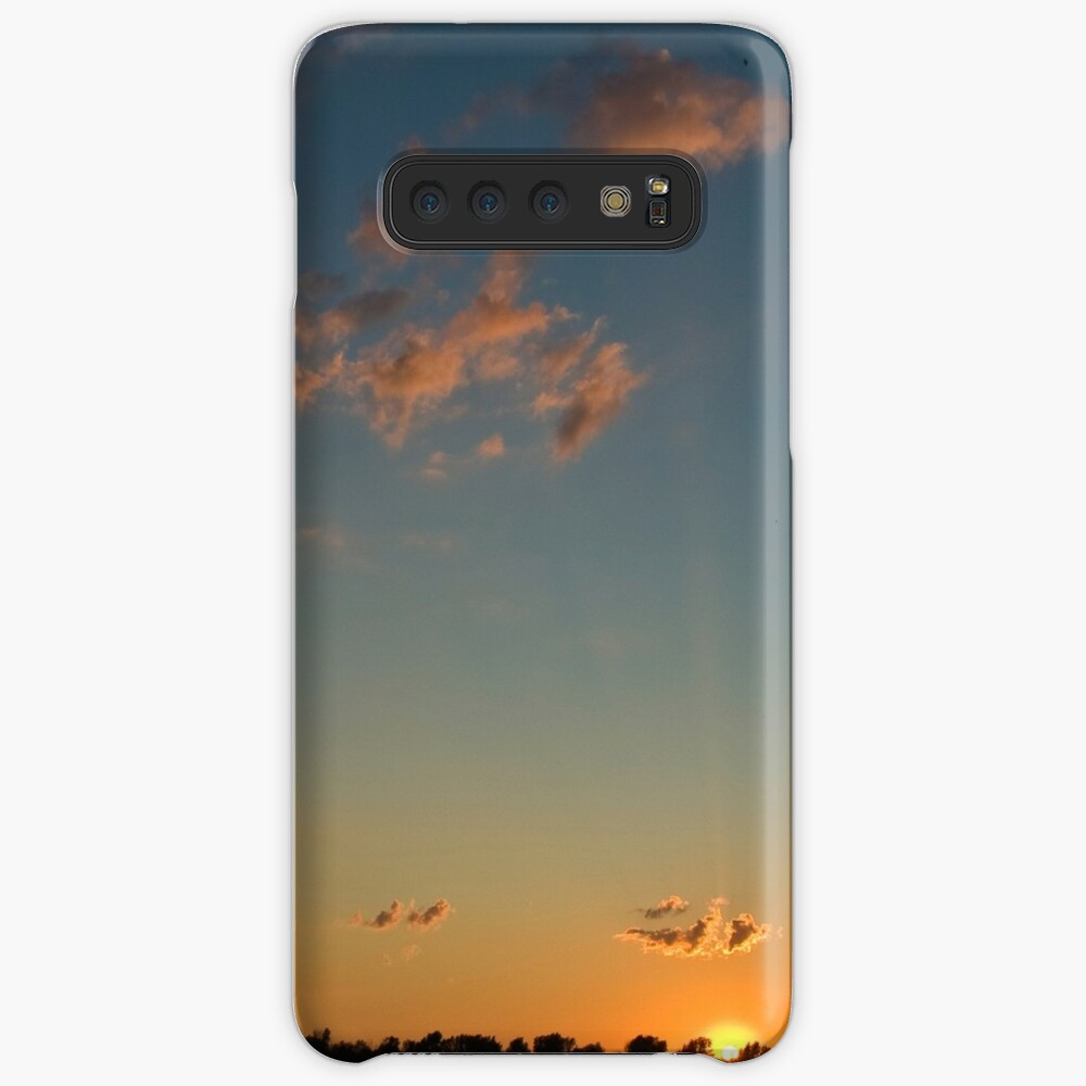 Sunset over the water Case & Skin for Samsung Galaxy