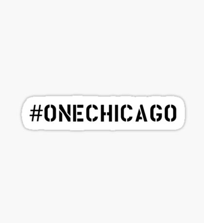 One Chicago Sticker