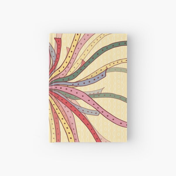 Colorful Ribbons Hardcover Journal