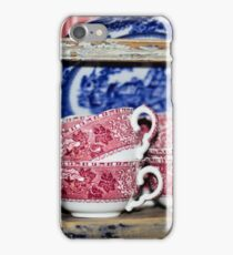 Oldfashioned Tableware - Macro Photography iPhone Case/Skin