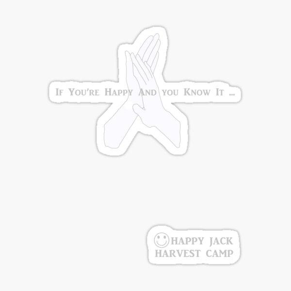 Happy Jack Harvest Camp Sticker