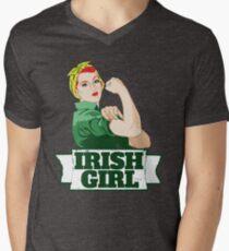 Irish Girl Men's V-Neck T-Shirt