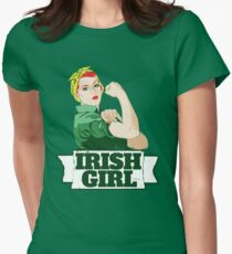 Irish Girl Women's Fitted T-Shirt