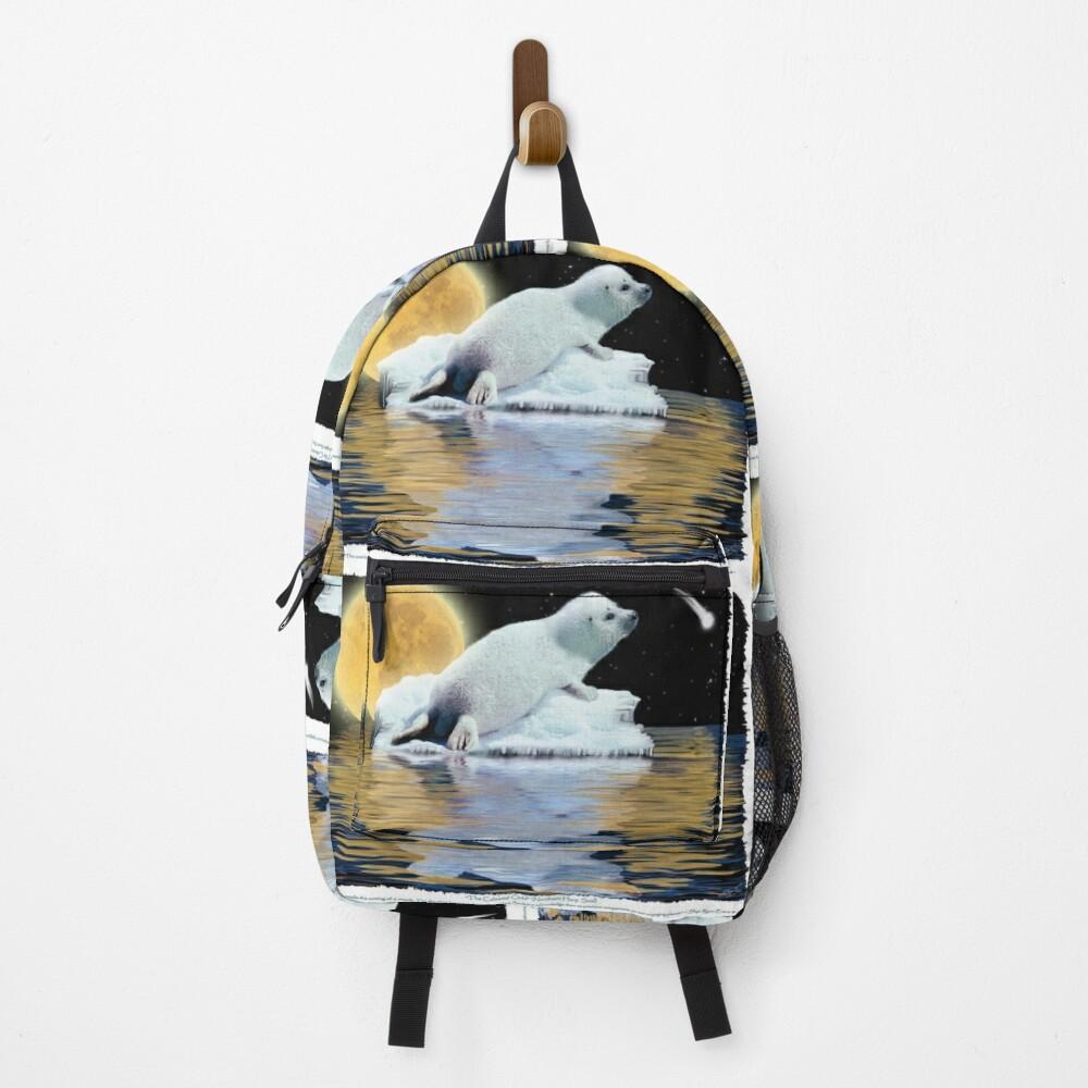 """The Celestial Child"" (Harp Seal) Backpack"