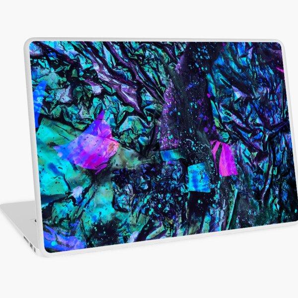 Peacock Iridescent Laptop Skin