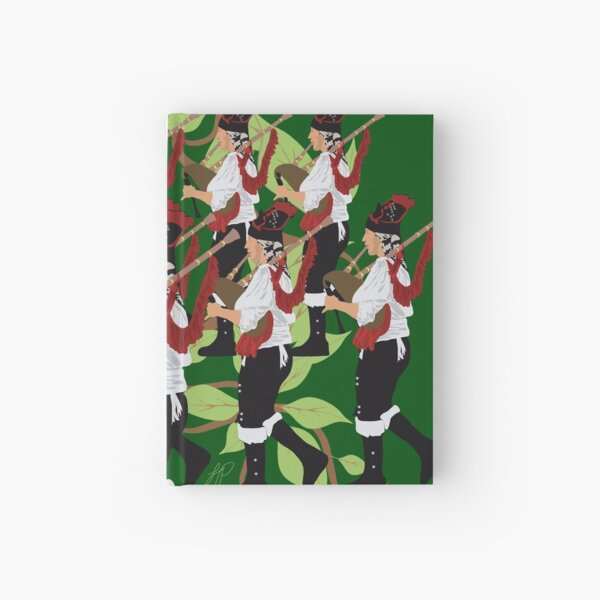 12 Days of Christmas: Eleven Pipers Piping Hardcover Journal