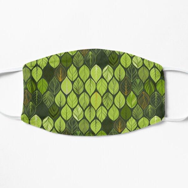 green leaves. leaf. nature. wild Mask