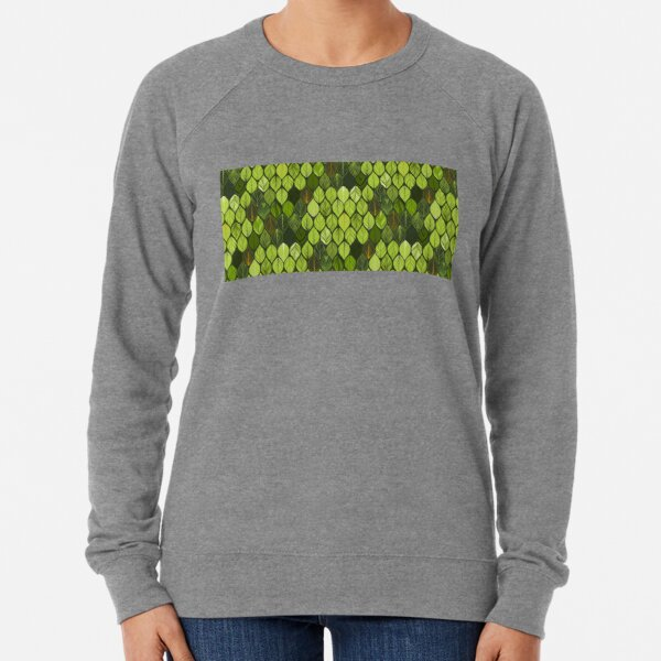 green leaves. leaf. nature. wild Lightweight Sweatshirt