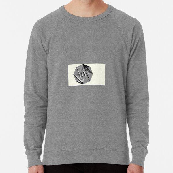Shadow Crest: Hidden Crystal Key. Digital Medallion  Lightweight Sweatshirt