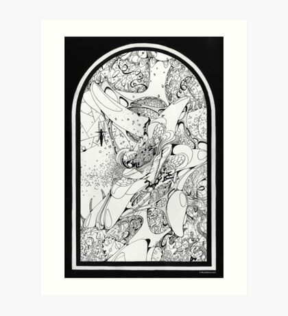 Graphics 008 Art Print